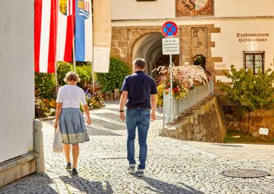 Aufgang Schlosspark