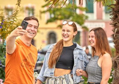 Jugendliche Selfie Schärding